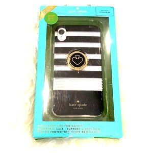 Kate Spade iPhone XR Ring Stand Hardshell Case